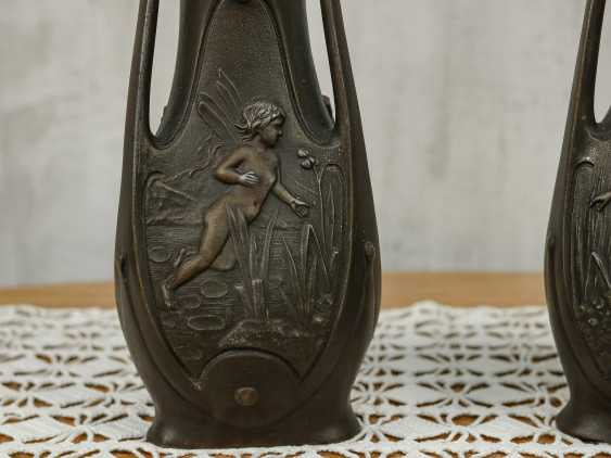 Antique pair vases - photo 5