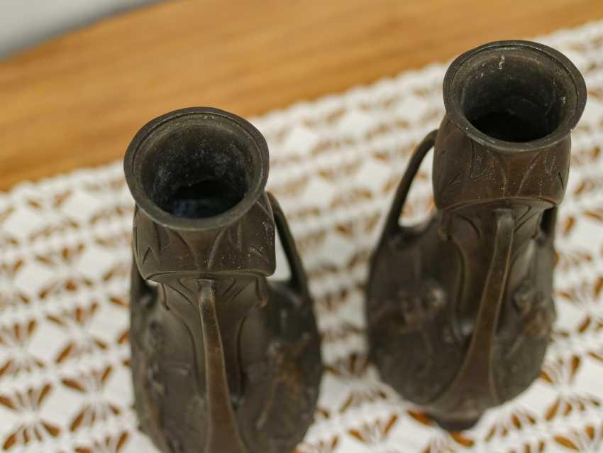 Antique pair vases - photo 6