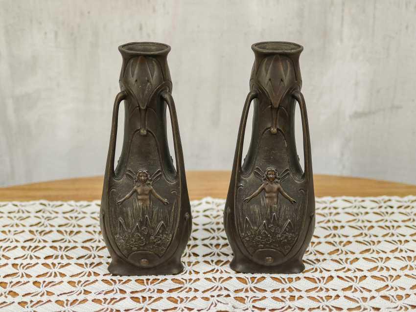 Antique pair vases - photo 8