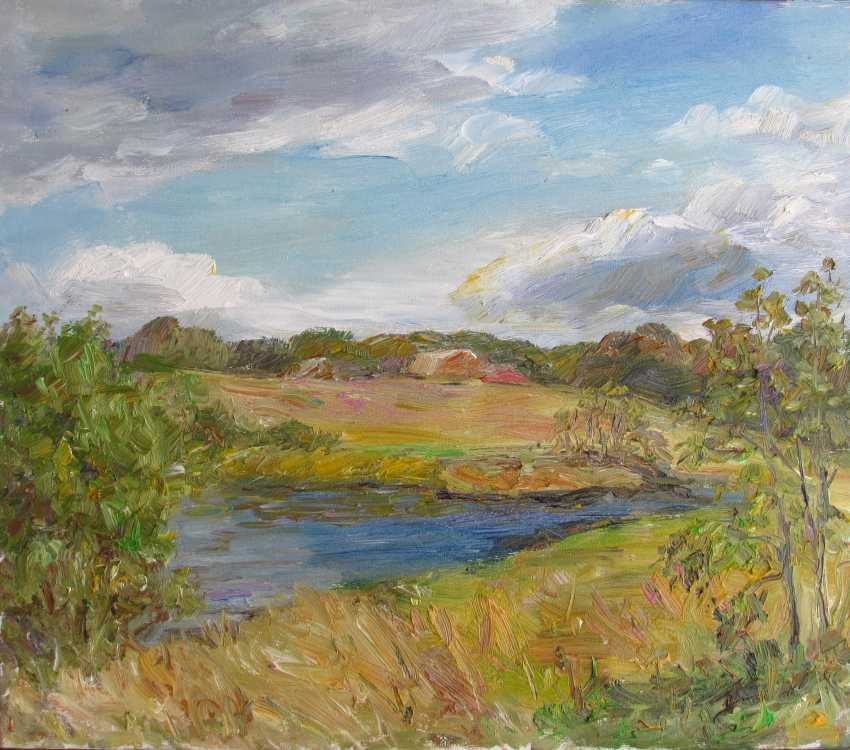 Marina Novikova. The river near the village - photo 1