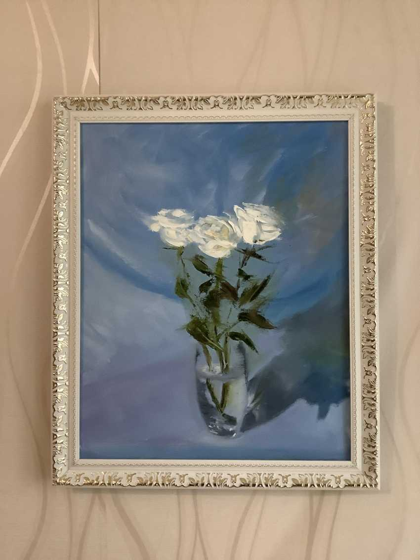 Dmitriy Lebed'kov. White roses - photo 2