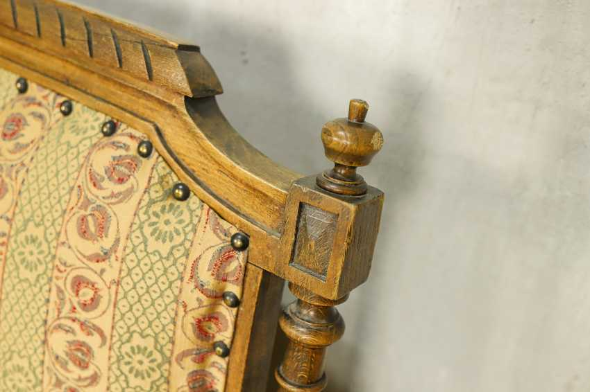 Antique carved sofa - photo 7