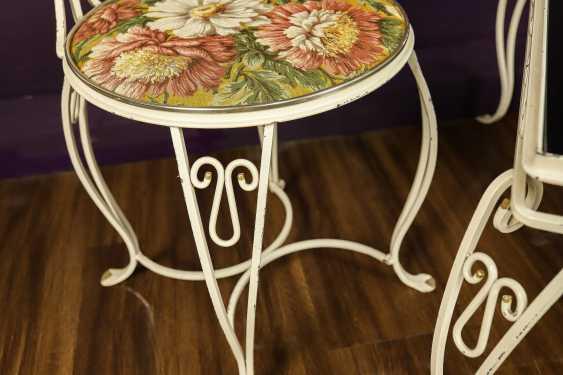Antique wrought iron furniture set - photo 8