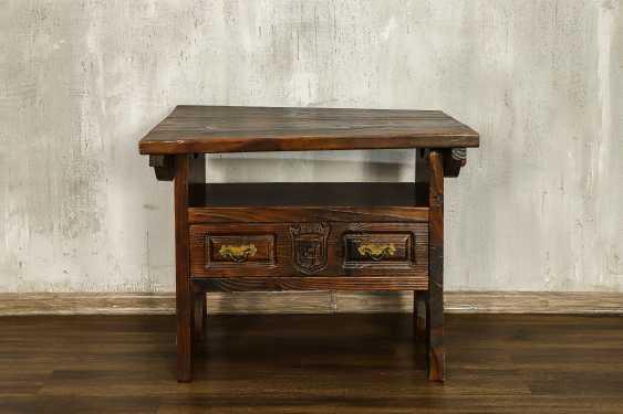 Antique bench - photo 1