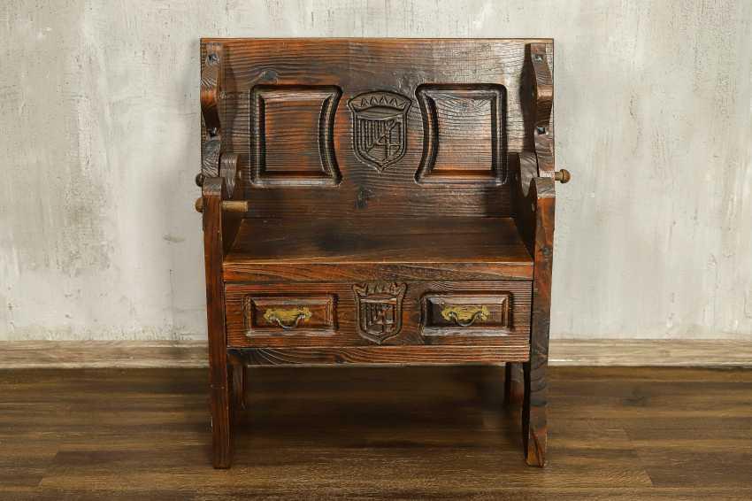 Antique bench - photo 3