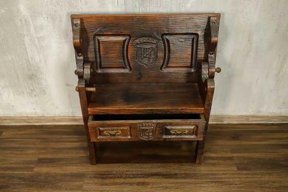 Antique bench - photo 4