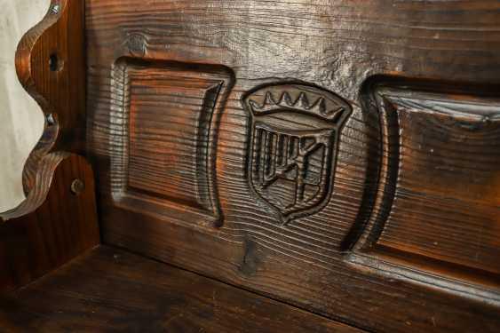 Antique bench - photo 7