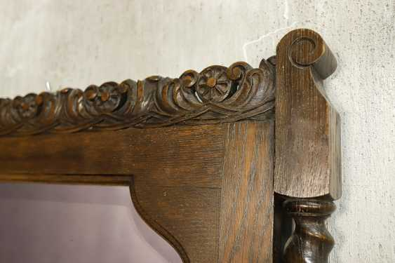 Antique carved mirror - photo 4