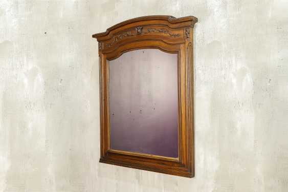 Antique carved mirror - photo 1