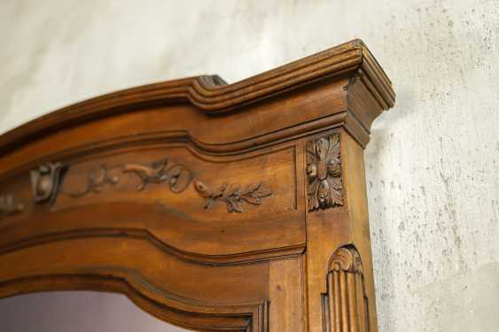 Antique carved mirror - photo 3