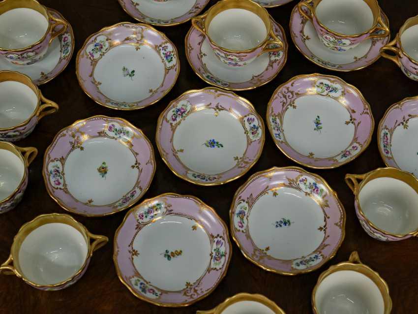 Antique set of 6 soup cups - photo 5