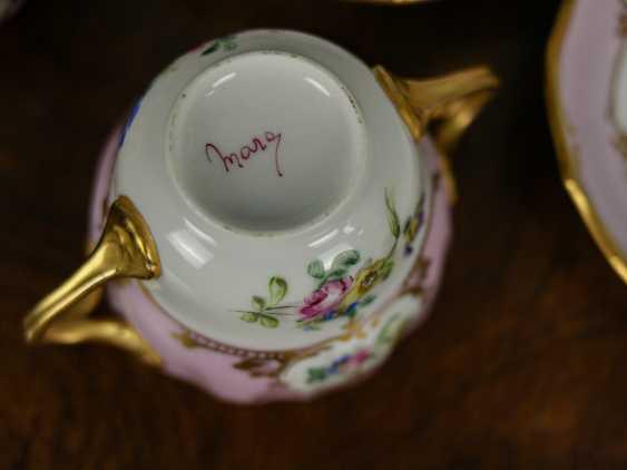 Antique set of 6 soup cups - photo 6