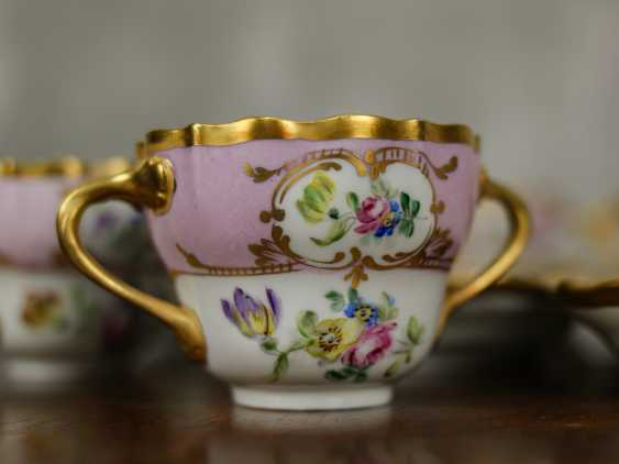 Antique set of 6 soup cups - photo 7