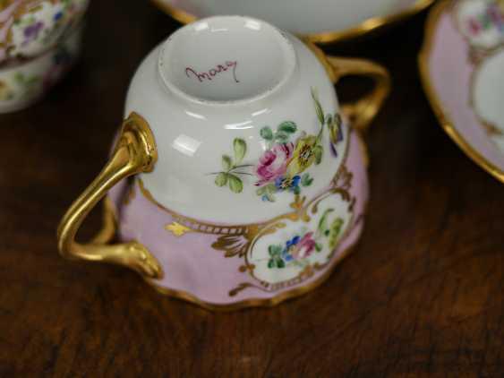 Antique set of 6 soup cups - photo 8