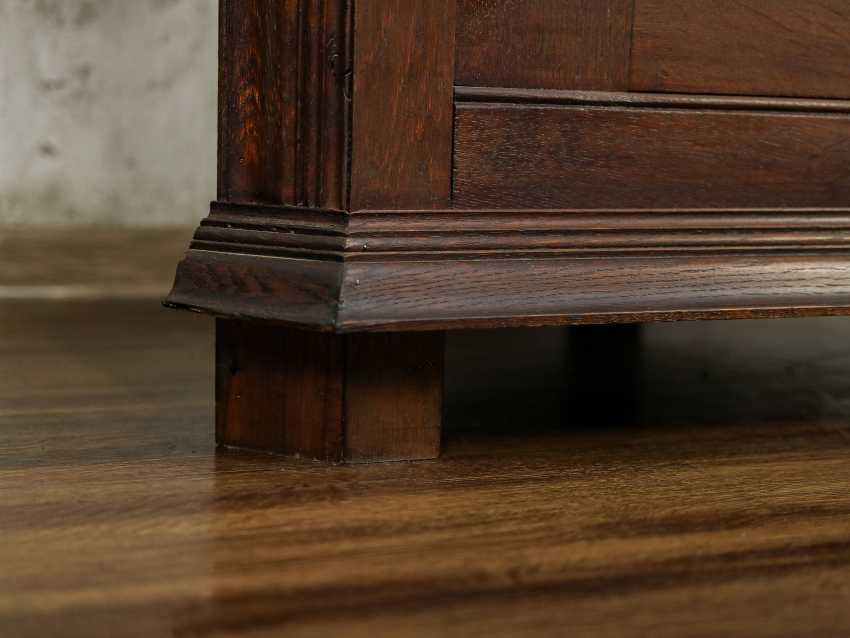 Antique Oak Corner Cabinet - photo 7