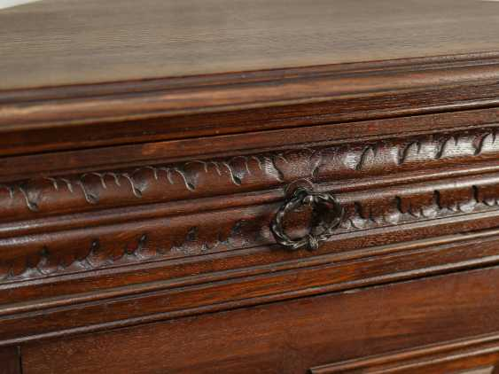 Antique Oak Corner Cabinet - photo 8