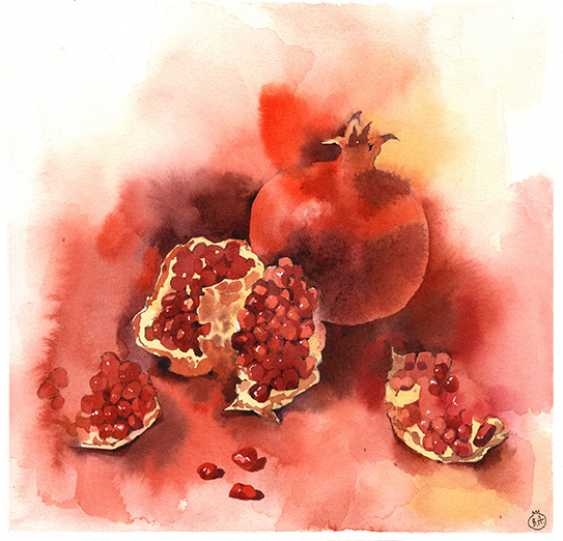 Veronika Shepilova. Pomegranate - photo 1