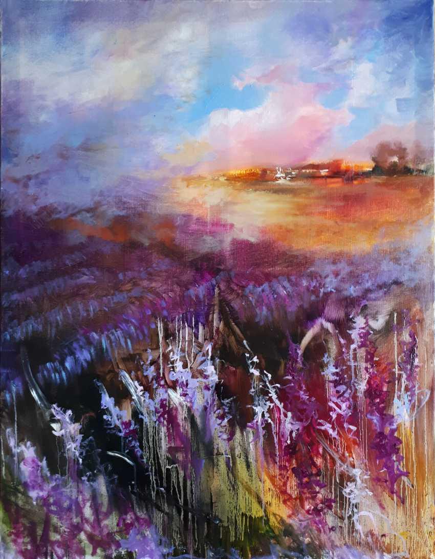 Oksana Shaliapina. Lavendelhimmel - Foto 1