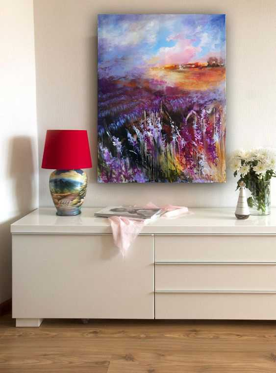Oksana Shaliapina. Lavendelhimmel - Foto 2