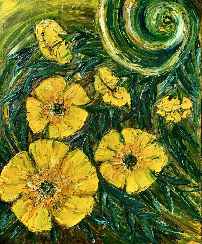Mariia Zasidkovych. Yellow flowers - photo 1
