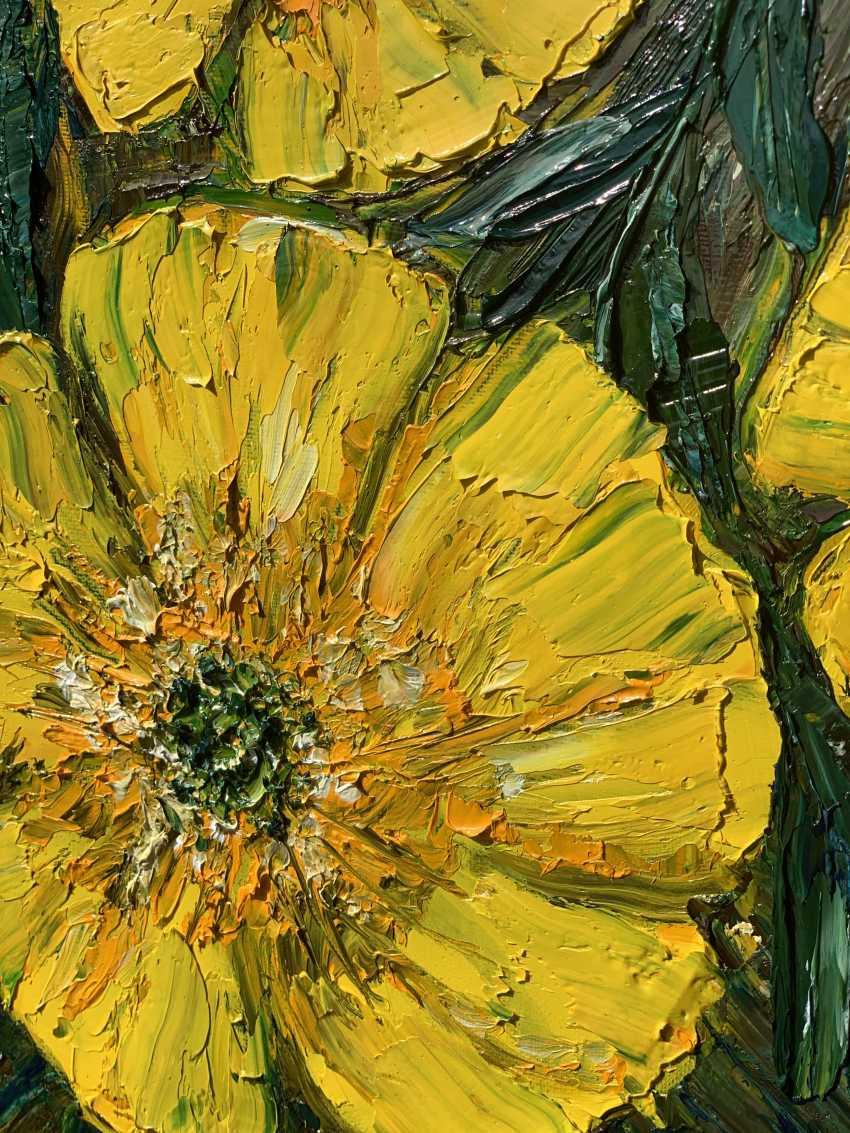 Mariia Zasidkovych. Yellow flowers - photo 2