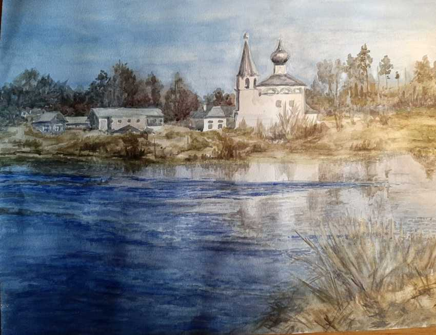 Alexandra Zhurkina. Temple over the river - photo 1
