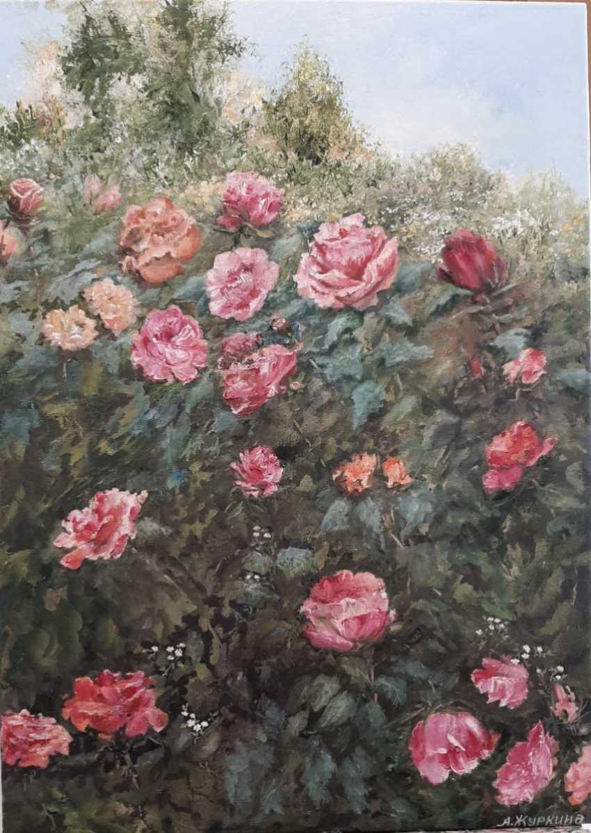 Alexandra Zhurkina. Roses in the garden - photo 2