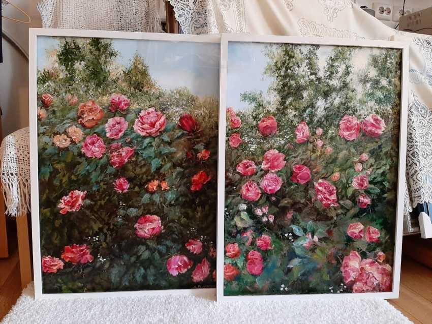 Alexandra Zhurkina. Roses in the garden - photo 3