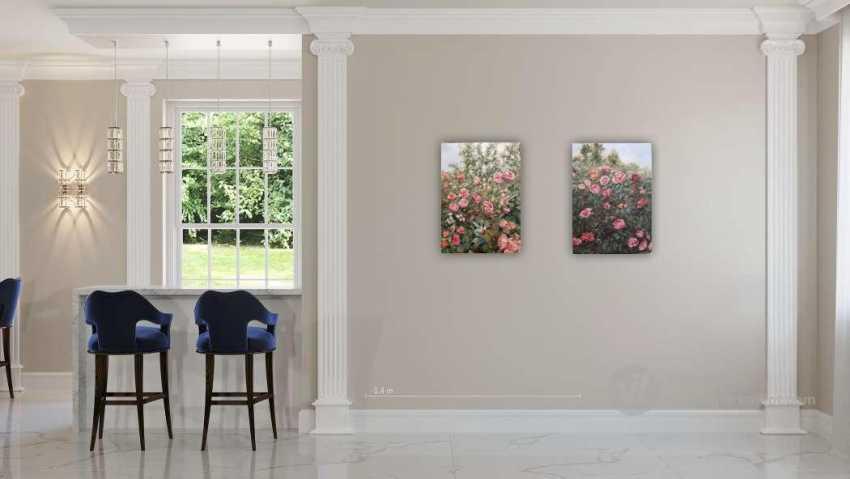 Alexandra Zhurkina. Roses in the garden - photo 5