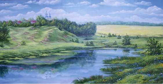 viktor shutka. peinture ÉTÉ - photo 1