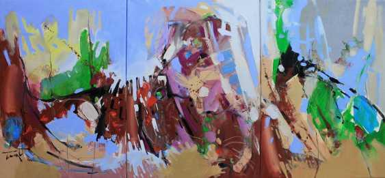 Henadzy Havartsou. Parallel reality, triptych - photo 1