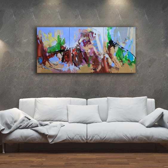 Henadzy Havartsou. Parallel reality, triptych - photo 5