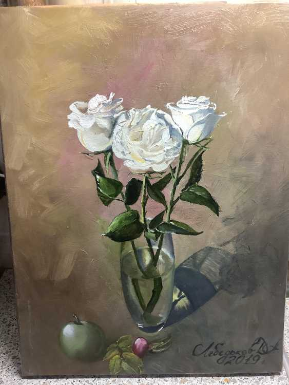 Dmitriy Lebed'kov. Roses - photo 1