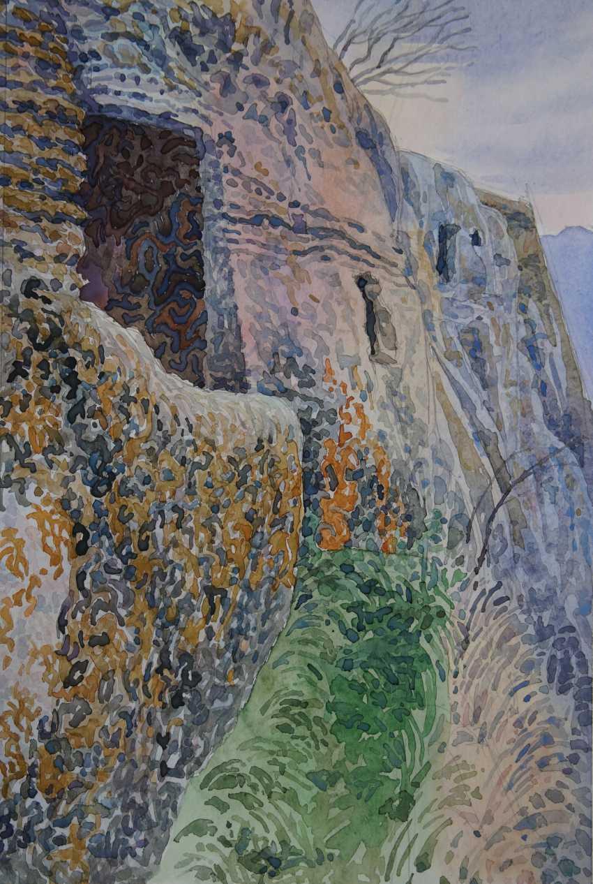 Aleksandr Zgursky. On the edge of Tepe. - photo 1