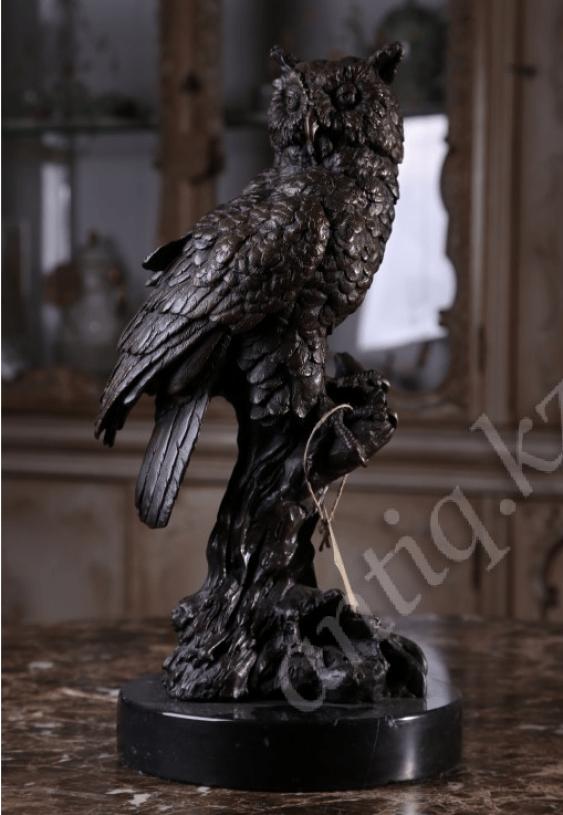 """Bronze statuette """"Owl"""" - photo 1"""