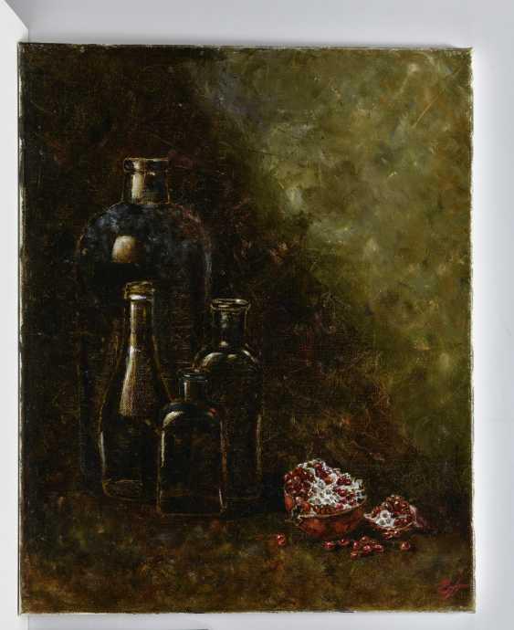 Elena Pavlova. Гранат и бутылки - photo 1