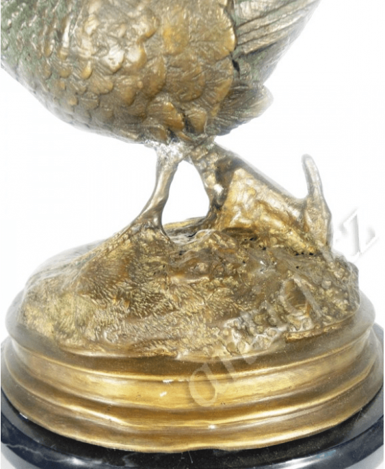 "Bronze figurine ""Pheasant""in the twentieth - photo 3"