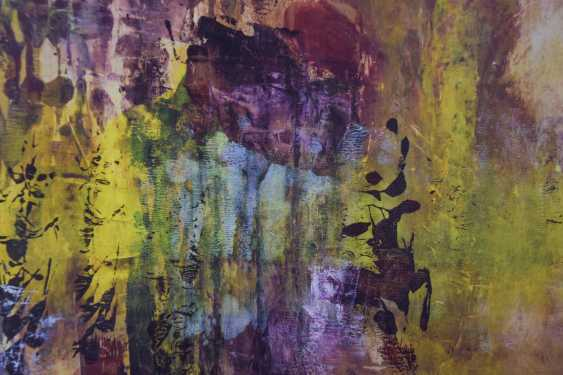 Colourful Abstract in the style of Gerhard Richter - photo 6
