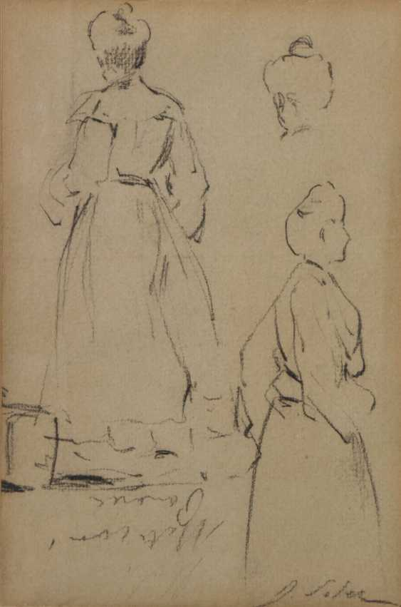 Double-sided sketches of Fin de siècle Ladies - photo 1