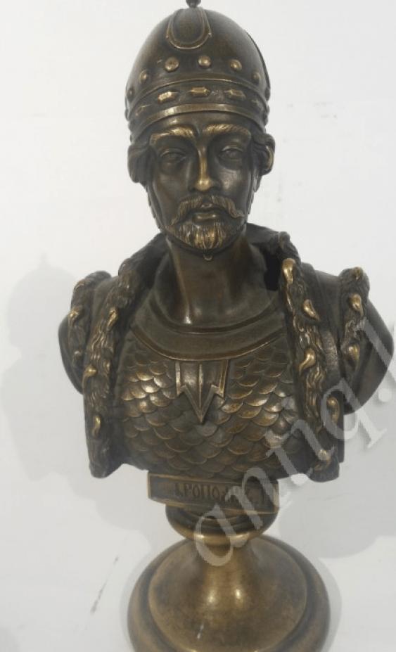 Yaropolk bronze by F. Chopin - photo 1
