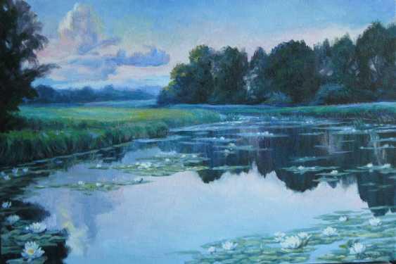 """Leonid Fedorov. """"Вечер на реке"""" - photo 1"""