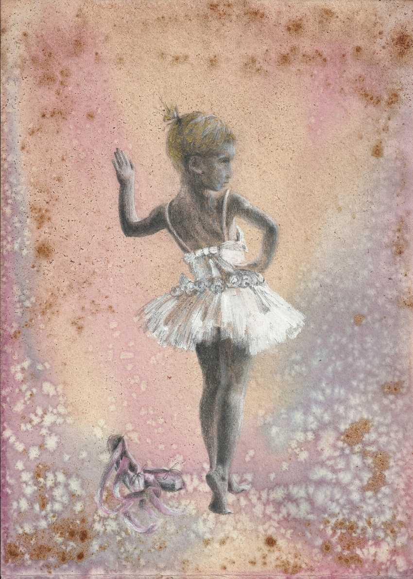 Natasha Mishareva. Балет, балет, балет... Рисунок, ручная работа, 2020г Автор - Мишарева Наталья - photo 1