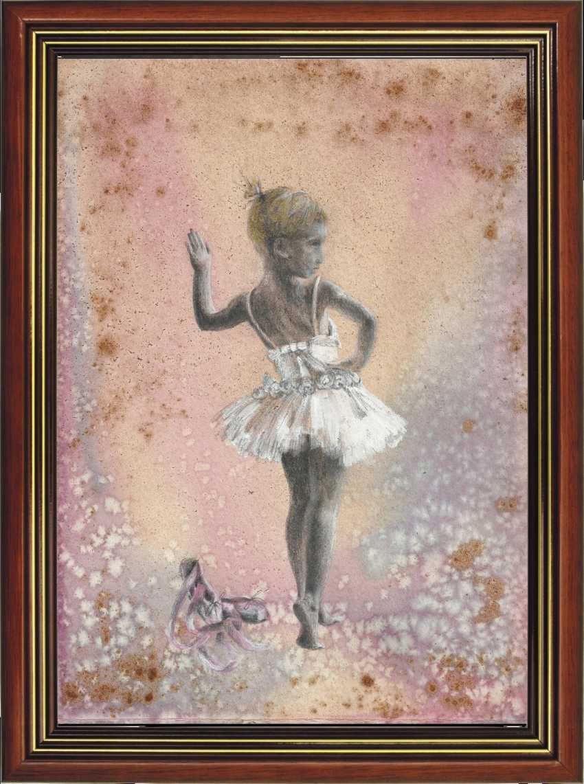Natasha Mishareva. Балет, балет, балет... Рисунок, ручная работа, 2020г Автор - Мишарева Наталья - photo 2