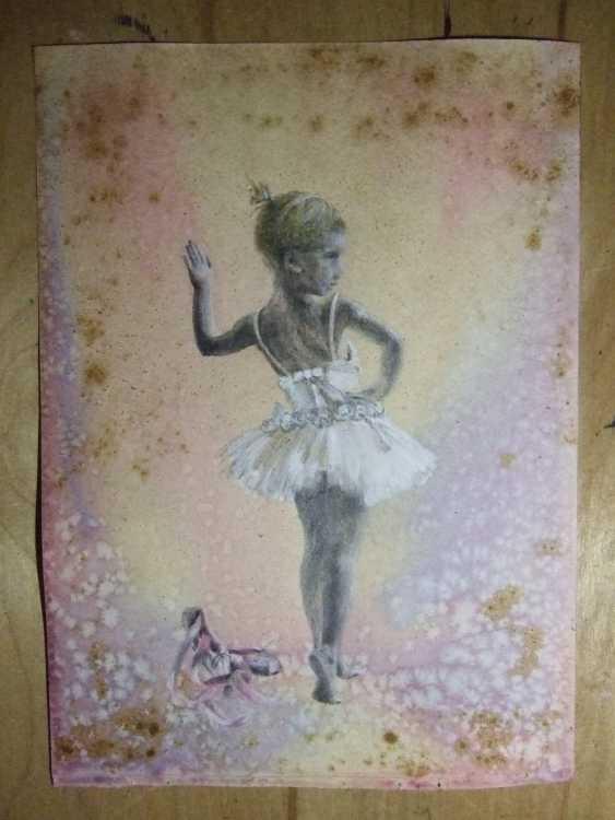 Natasha Mishareva. Балет, балет, балет... Рисунок, ручная работа, 2020г Автор - Мишарева Наталья - photo 3