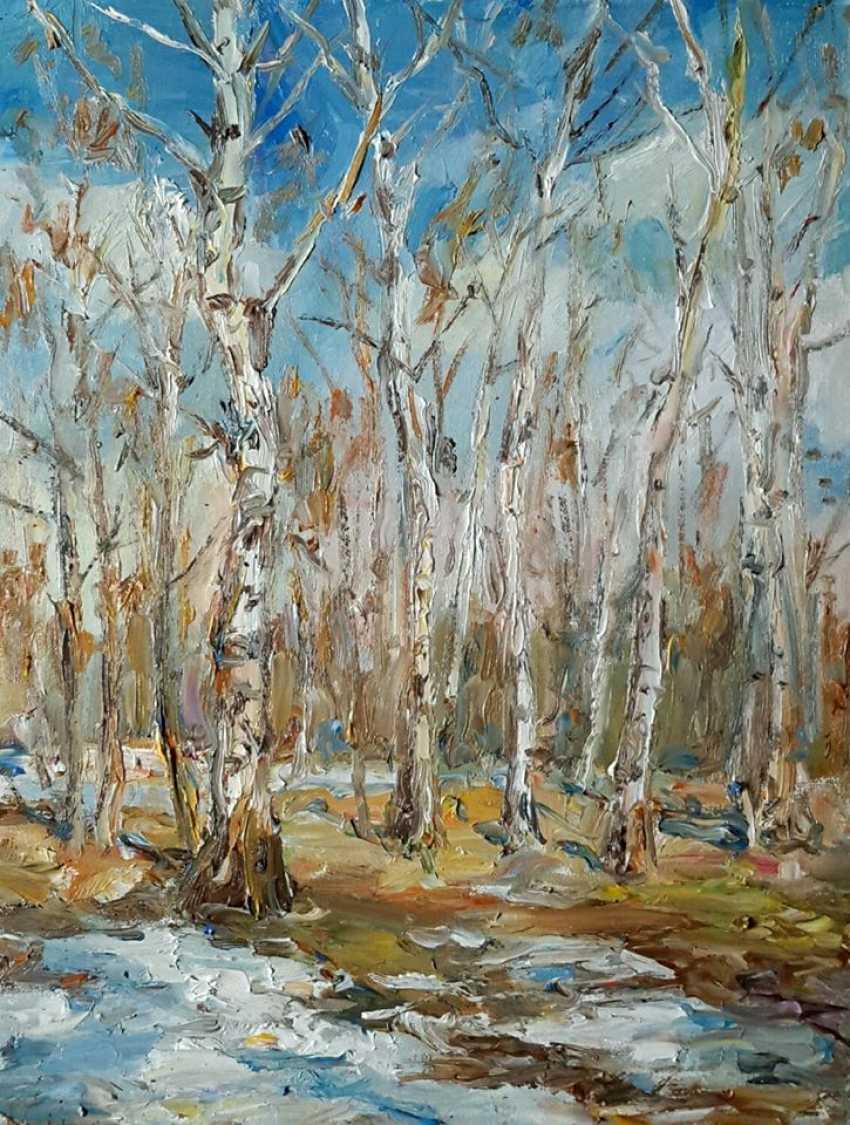 Marina Novikova. Весенний лес - photo 1
