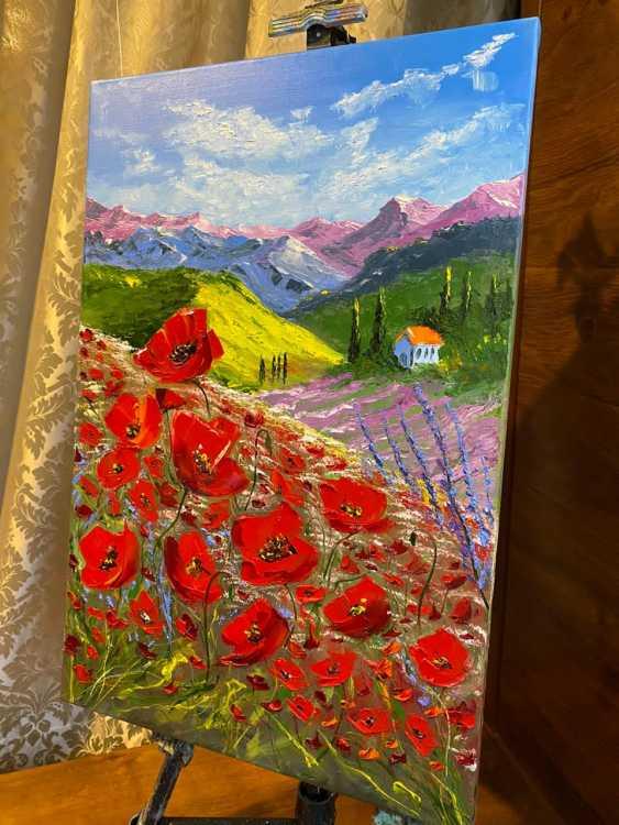 Oleg Sizov. Красные маки Прованса - photo 4