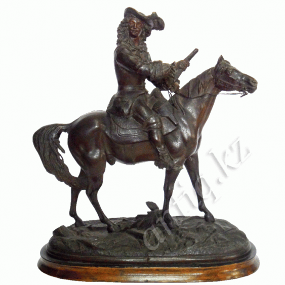 """Mounted musketeer""of the XIX-XX centuries. - photo 1"