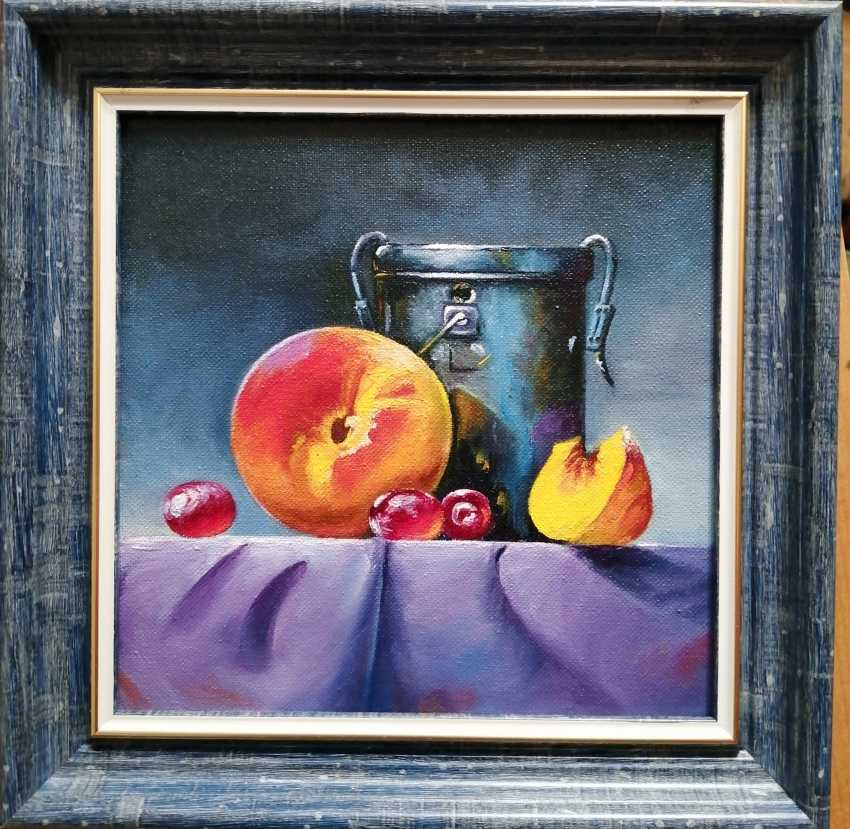 "Natalya Parshina. ""Still life with a peach and a tin can"" - photo 1"