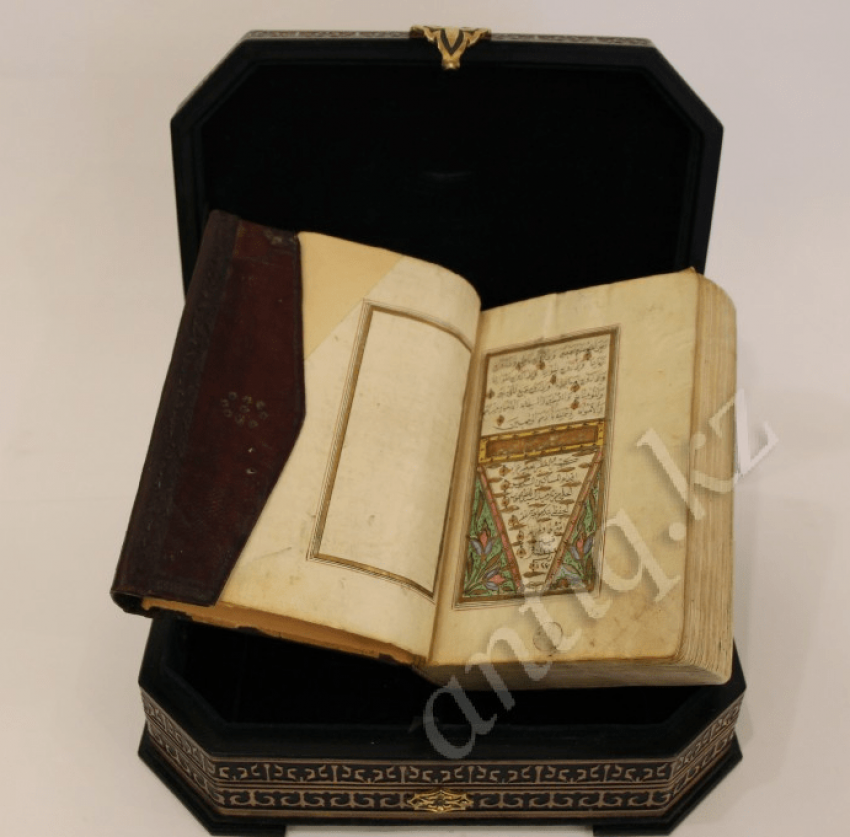 Quran Manuscript thuluth, leather. In XIX - photo 3