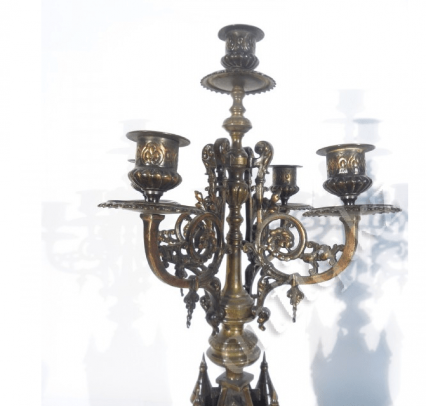 candelabra in the form of towers in the twentieth - photo 1